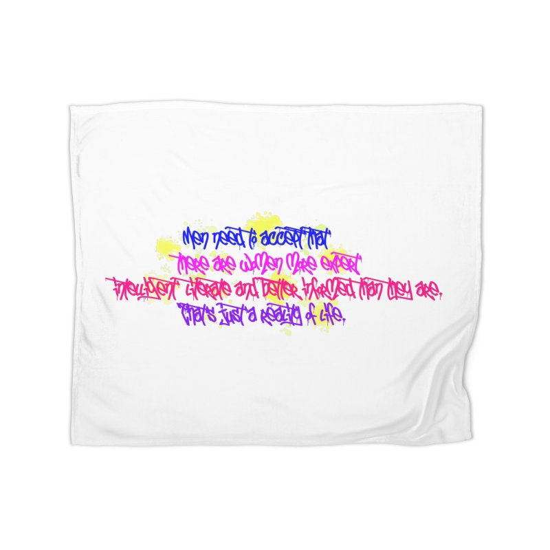 Women are Experts 2 Home Blanket by originlbookgirl's Artist Shop