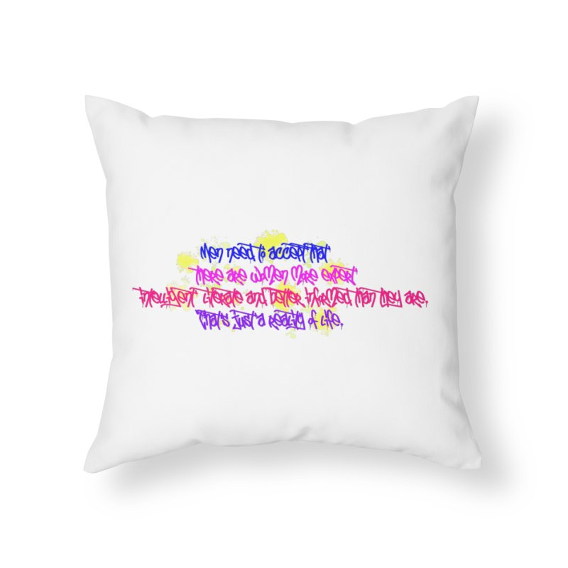 Women are Experts 2 Home Throw Pillow by originlbookgirl's Artist Shop
