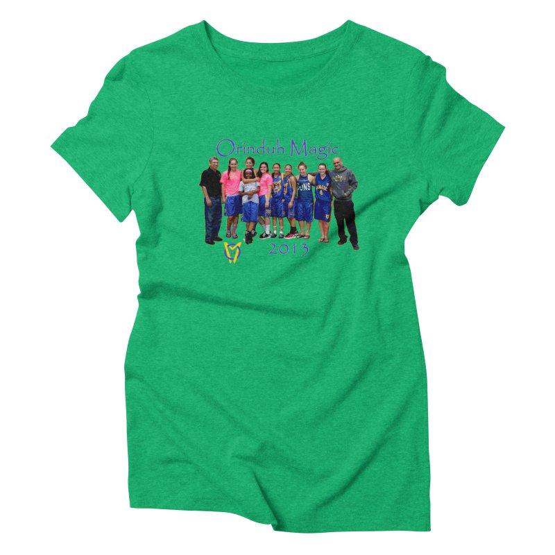 Orinduh 2013 Women's Triblend T-Shirt by Orinda Magic Spirit Gear
