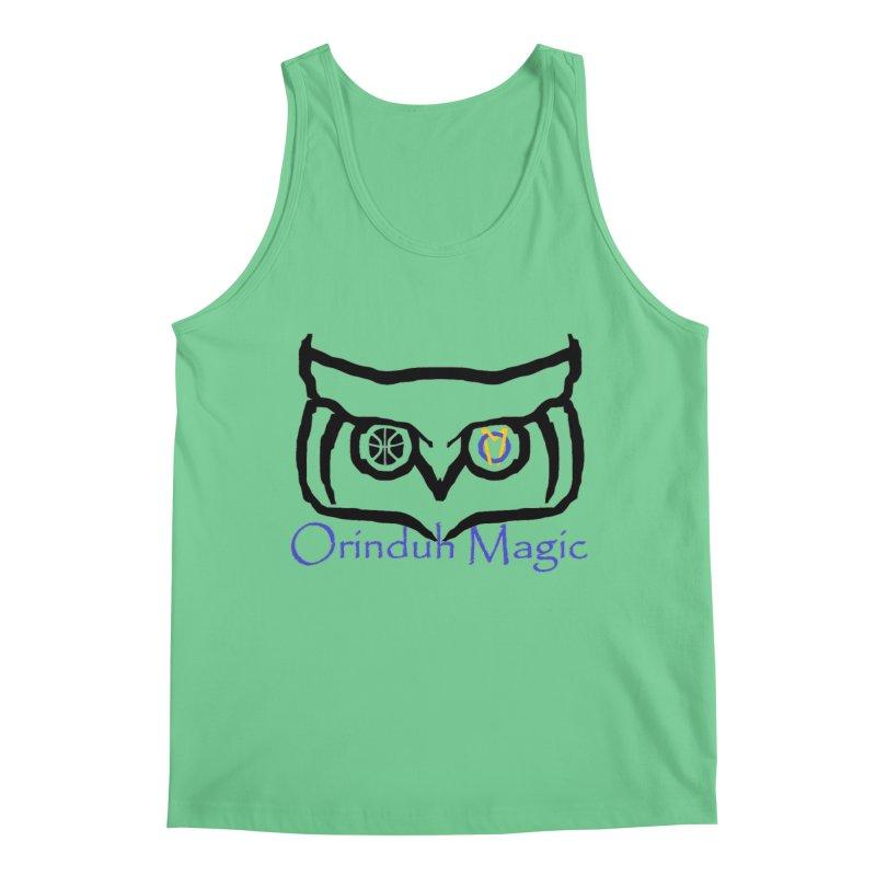 Orinduh Magic Men's Regular Tank by Orinda Magic Spirit Gear