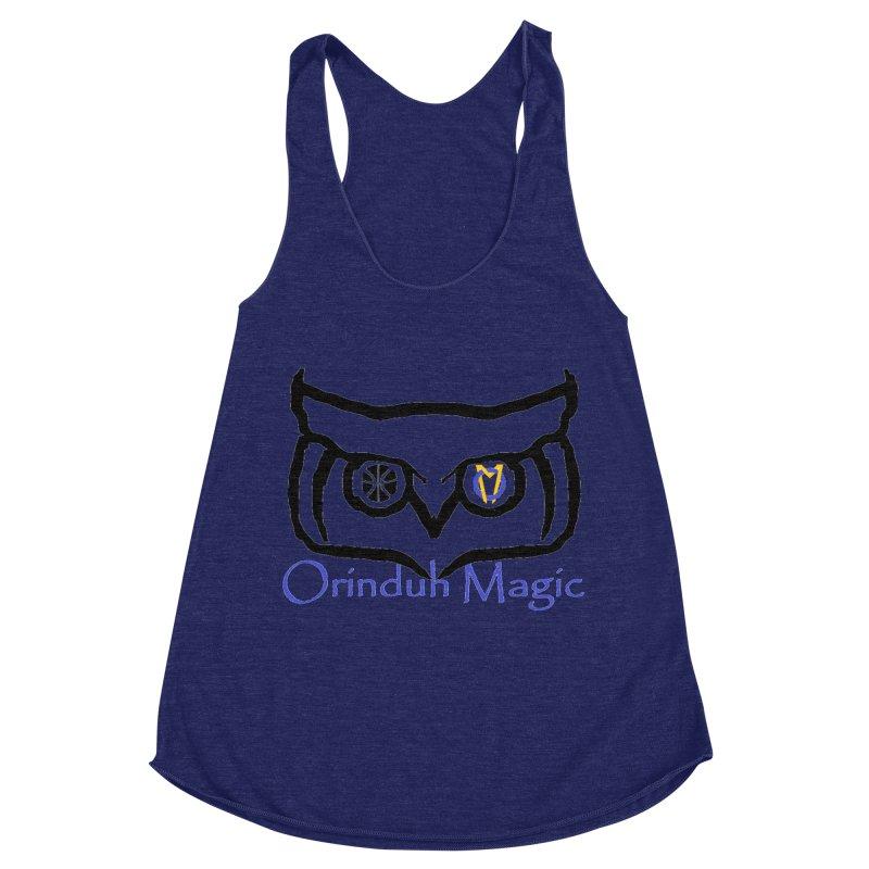 Orinduh Magic Women's Racerback Triblend Tank by Orinda Magic Spirit Gear