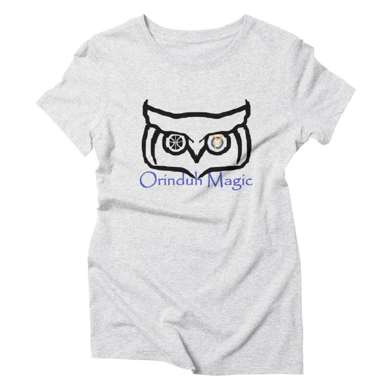 Orinduh Magic Women's Triblend T-Shirt by Orinda Magic Spirit Gear