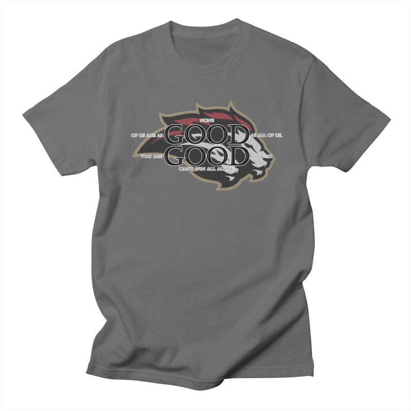 Good Good Men's Regular T-Shirt by Orinda Magic Spirit Gear