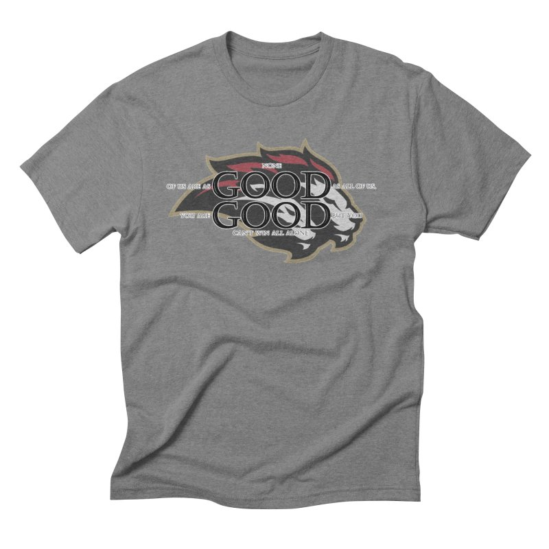 Good Good Men's Triblend T-Shirt by Orinda Magic Spirit Gear