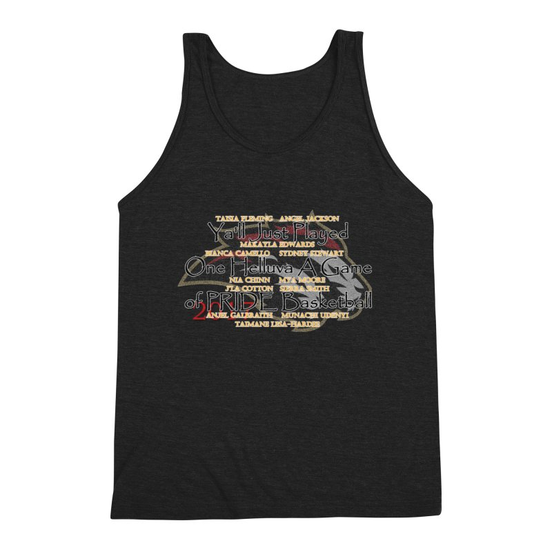 Pride2017 Men's Triblend Tank by Orinda Magic Spirit Gear