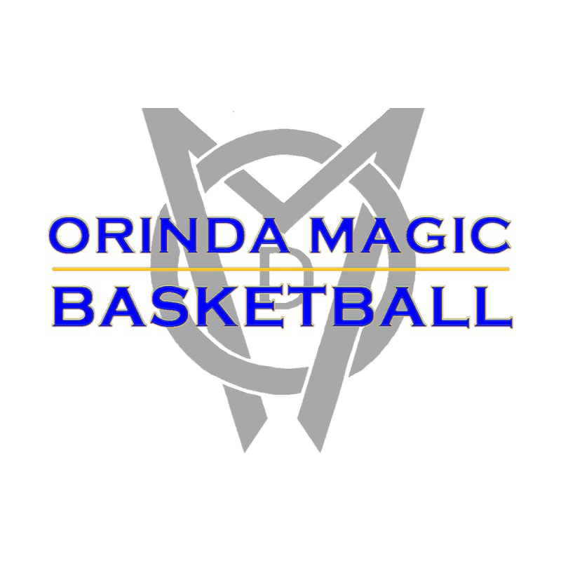 OMB Blue w LOGO, 2017 Coaches' Shirt by Orinda Magic Spirit Gear