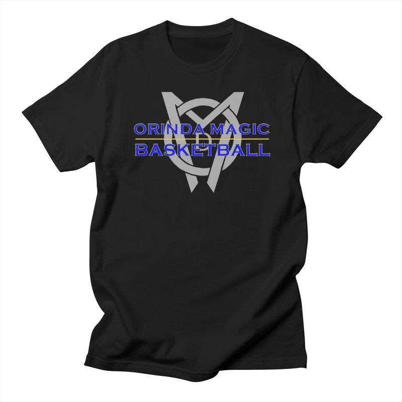 OMB Blue w LOGO, 2017 Coaches' Shirt Women's Regular Unisex T-Shirt by Orinda Magic Spirit Gear