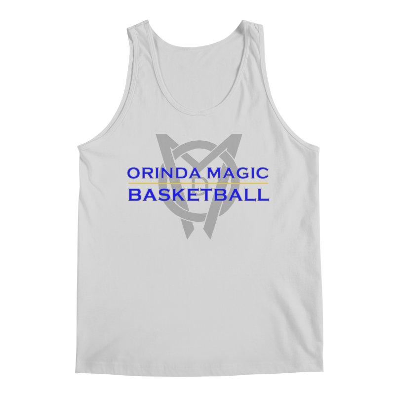 OMB Blue w LOGO, 2017 Coaches' Shirt Men's Tank by Orinda Magic Spirit Gear