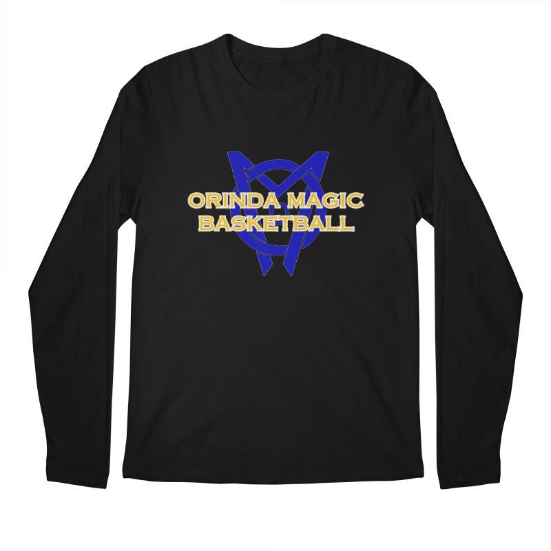 Orinda Magic Basketball Men's Regular Longsleeve T-Shirt by Orinda Magic Spirit Gear