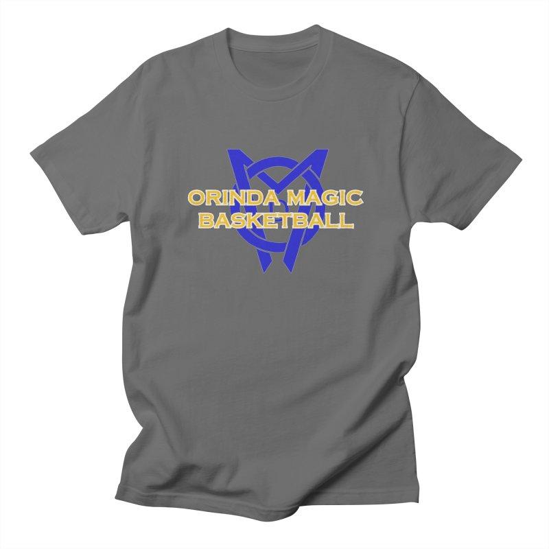 Orinda Magic Basketball Men's Regular T-Shirt by Orinda Magic Spirit Gear