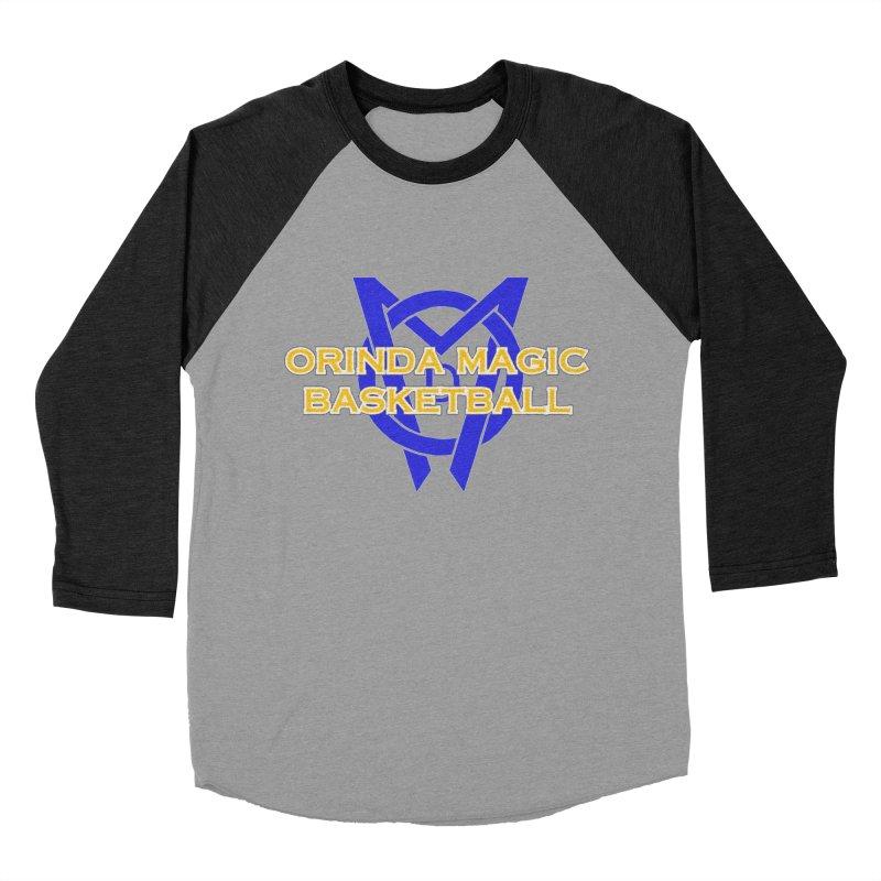 Orinda Magic Basketball Women's Baseball Triblend Longsleeve T-Shirt by Orinda Magic Spirit Gear