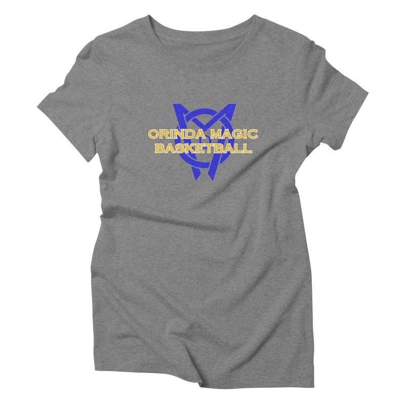 Orinda Magic Basketball Women's Triblend T-Shirt by Orinda Magic Spirit Gear