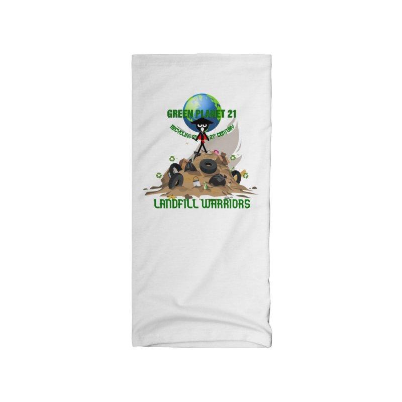 LANDFILL WARRIOR Accessories Neck Gaiter by Orinda Magic Spirit Gear