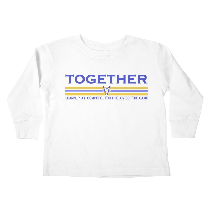 2 Blue Together w/LPC Design Kids Toddler Longsleeve T-Shirt by Orinda Magic Spirit Gear