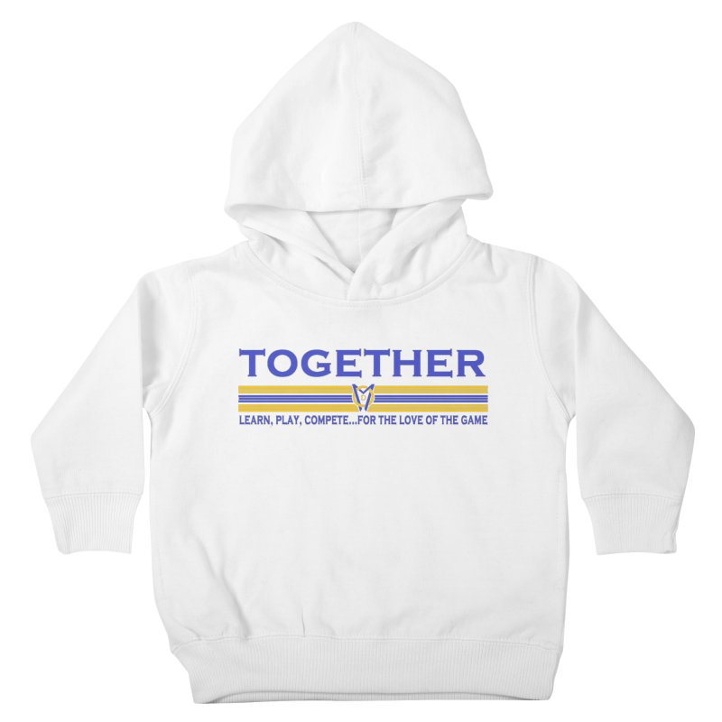 2 Blue Together w/LPC Design Kids Toddler Pullover Hoody by Orinda Magic Spirit Gear