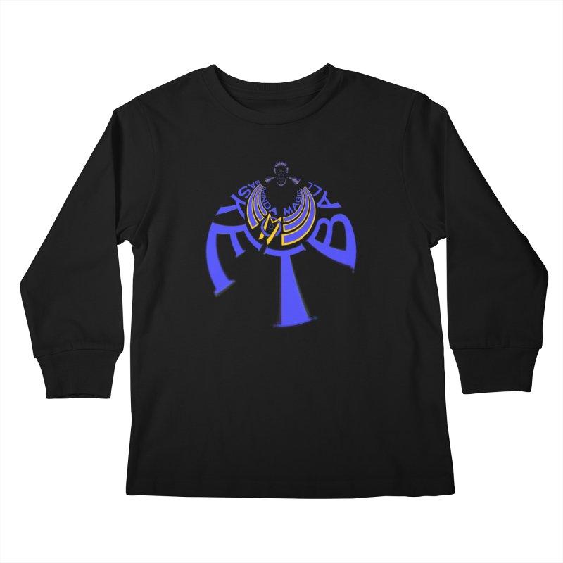 Orinda Magic Kaleido 1 Kids Longsleeve T-Shirt by Orinda Magic Spirit Gear