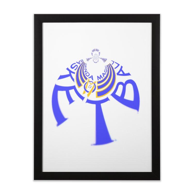 Orinda Magic Kaleido 1 Home Framed Fine Art Print by Orinda Magic Spirit Gear