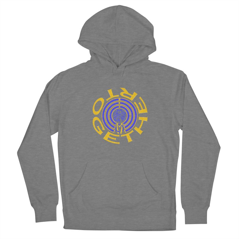 OM Together Swirl Women's French Terry Pullover Hoody by Orinda Magic Spirit Gear