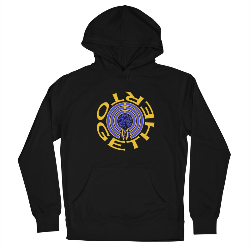 OM Together Swirl Men's French Terry Pullover Hoody by Orinda Magic Spirit Gear