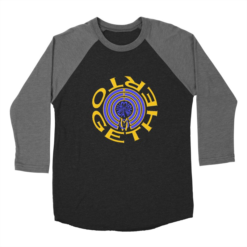 OM Together Swirl Women's Baseball Triblend Longsleeve T-Shirt by Orinda Magic Spirit Gear