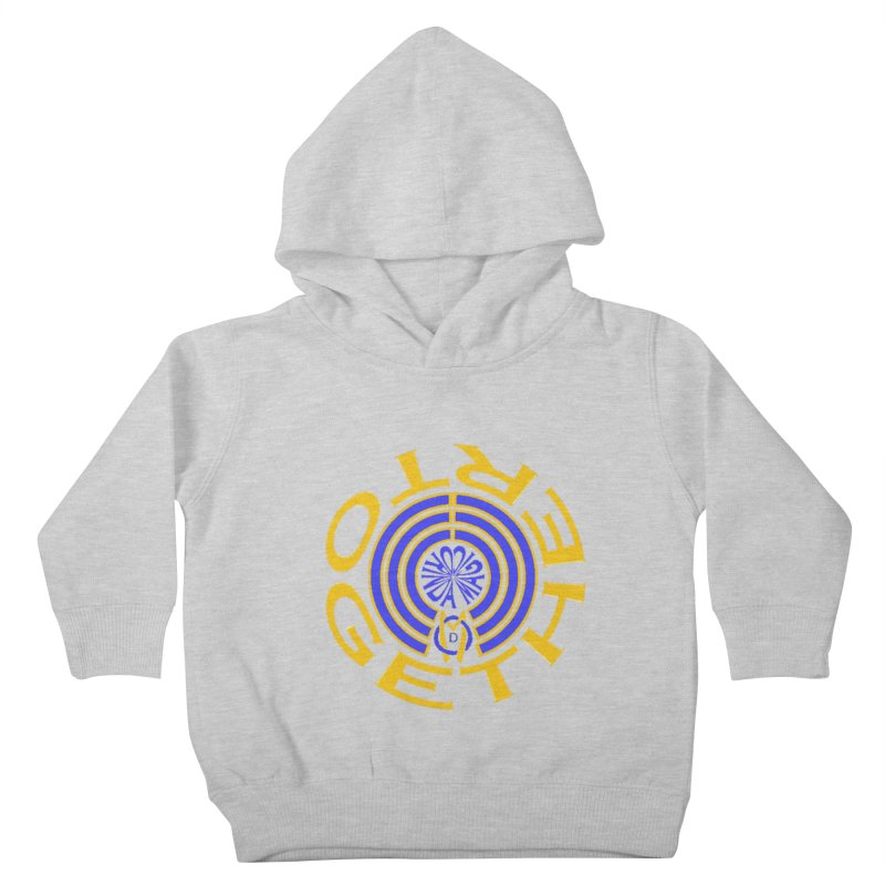 OM Together Swirl Kids Toddler Pullover Hoody by Orinda Magic Spirit Gear
