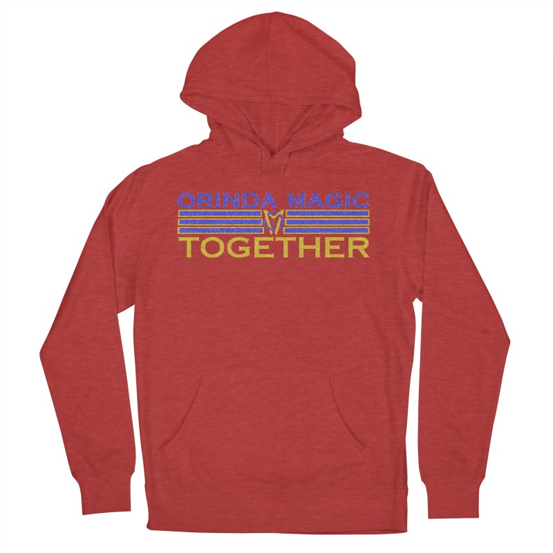 OM TOGETHER NOISY Men's French Terry Pullover Hoody by Orinda Magic Spirit Gear