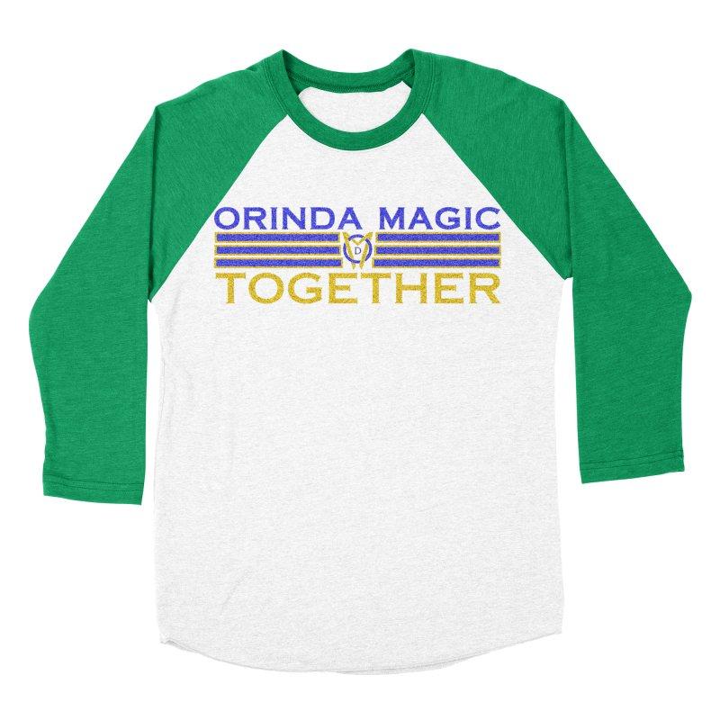 OM TOGETHER NOISY Women's Baseball Triblend Longsleeve T-Shirt by Orinda Magic Spirit Gear