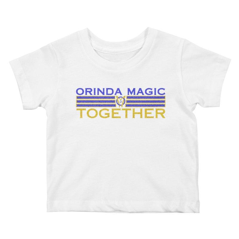 OM TOGETHER NOISY Kids Baby T-Shirt by Orinda Magic Spirit Gear