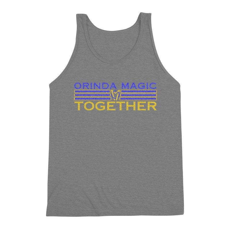 OM TOGETHER NOISY Men's Triblend Tank by Orinda Magic Spirit Gear