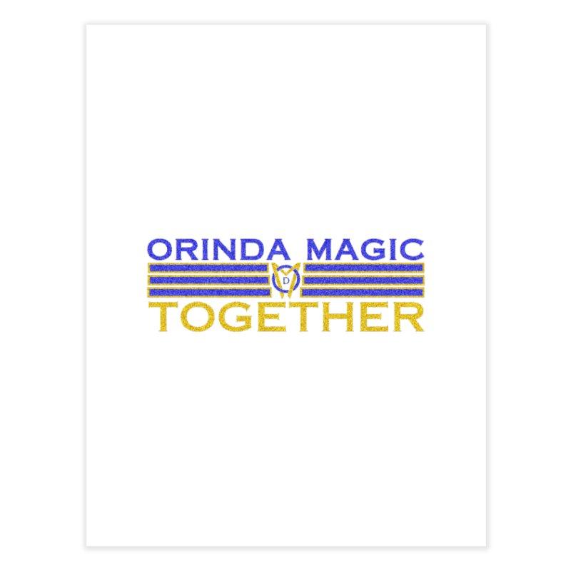 OM TOGETHER NOISY Home Fine Art Print by Orinda Magic Spirit Gear