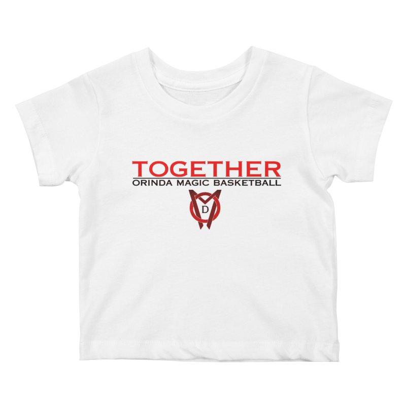 OM SCP Colors Kids Baby T-Shirt by Orinda Magic Spirit Gear