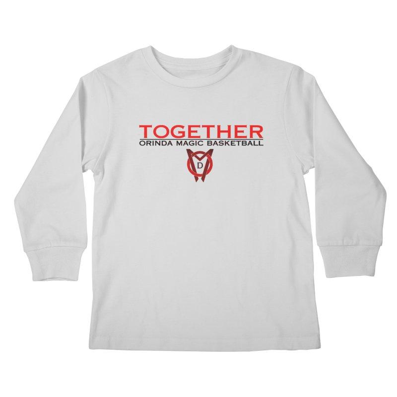 OM SCP Colors Kids Longsleeve T-Shirt by Orinda Magic Spirit Gear