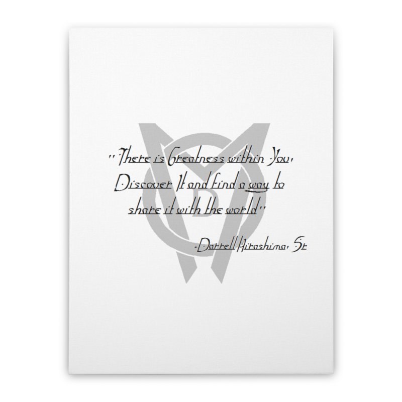 Greatness w/in You Home Stretched Canvas by Orinda Magic Spirit Gear