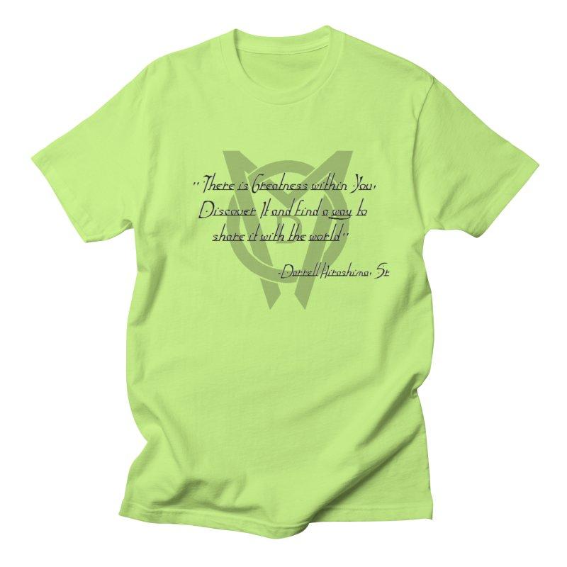 Greatness w/in You Men's Regular T-Shirt by Orinda Magic Spirit Gear