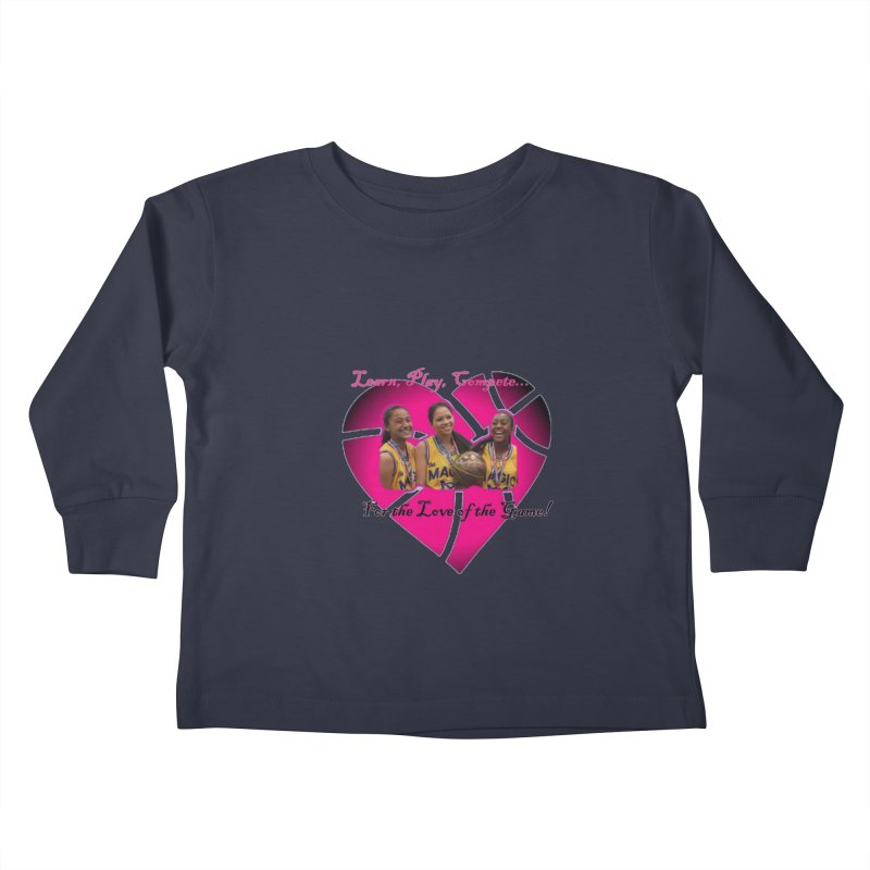 OG3 Kids Toddler Longsleeve T-Shirt by Orinda Magic Spirit Gear