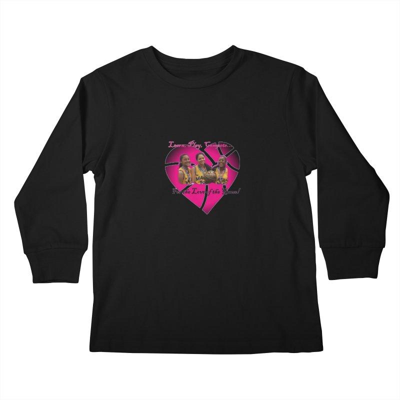 OG3 Kids Longsleeve T-Shirt by Orinda Magic Spirit Gear