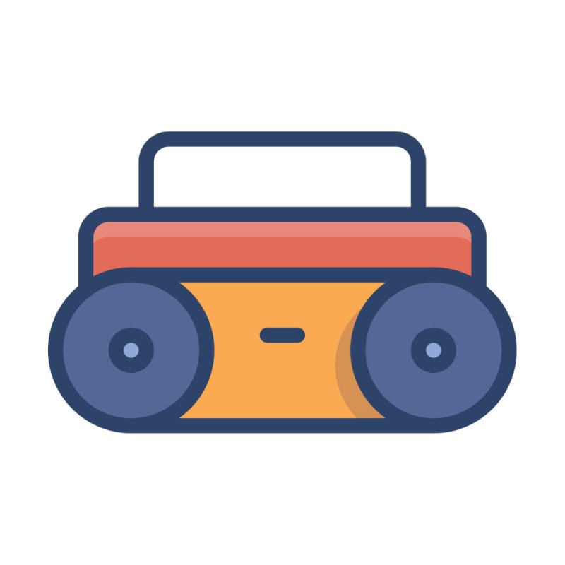 Boombox by Orion Icon Store