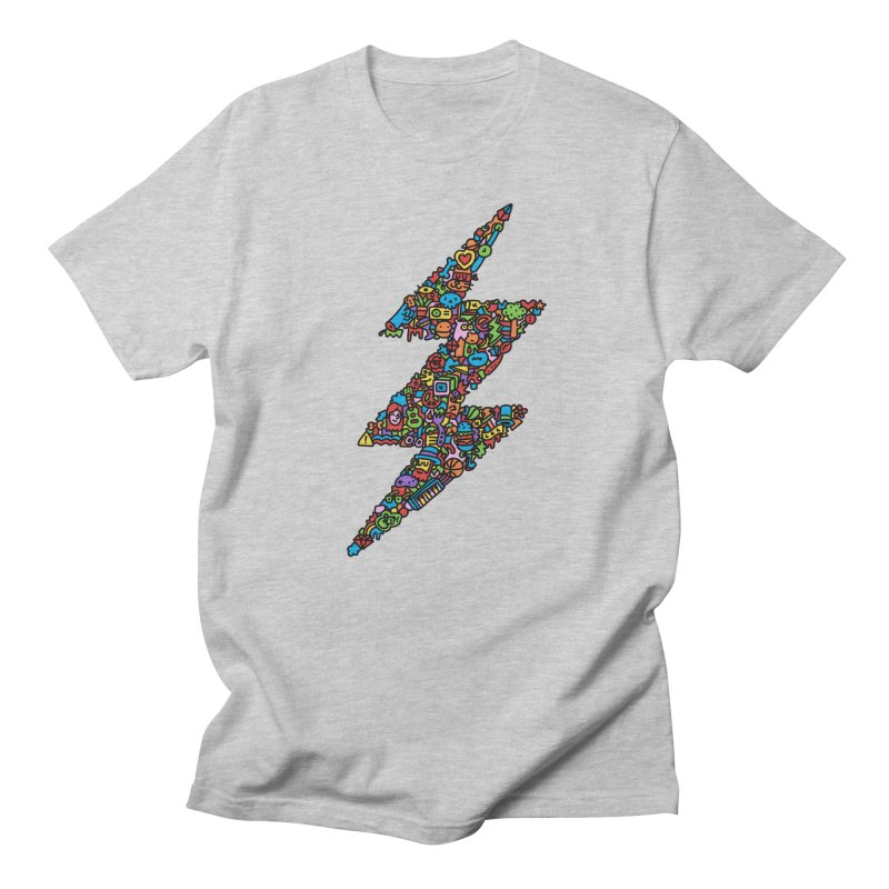 Bolt in Men's Regular T-Shirt Heather Grey by Orlando Soy Yo!