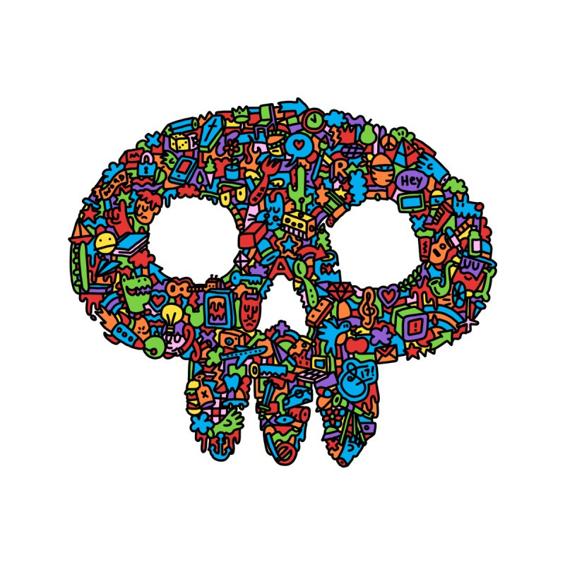 Skull None  by Orlando Soy Yo!