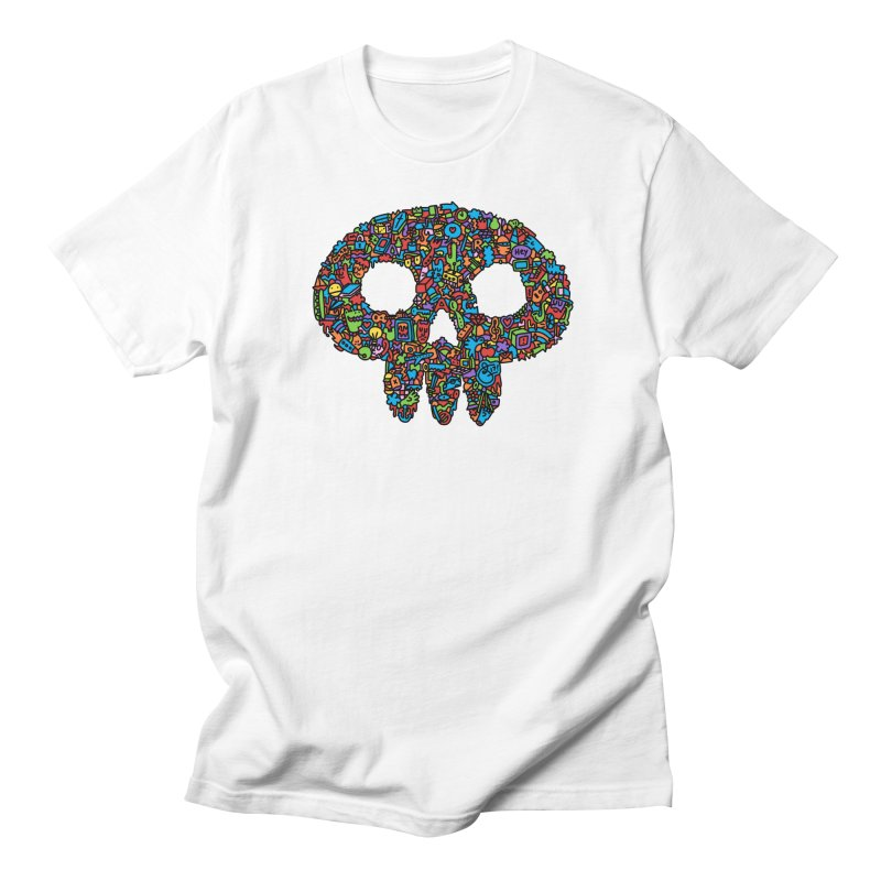 Skull Men's T-Shirt by Orlando Soy Yo!