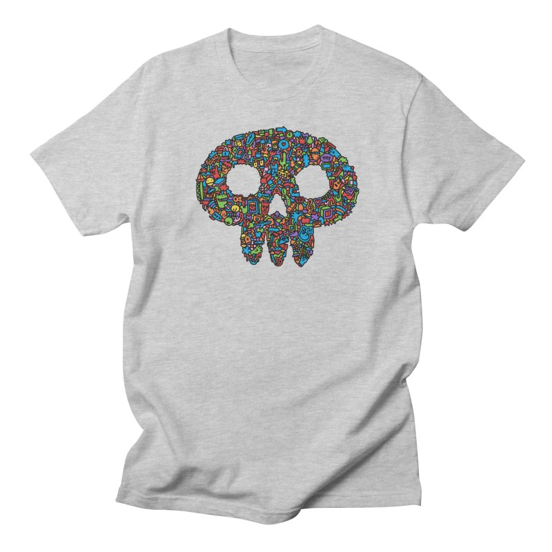 Skull Men's T-shirt by Orlando Soy Yo!