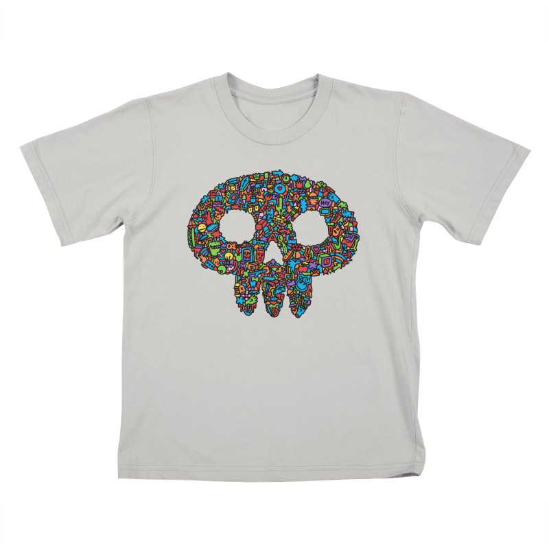 Skull Kids T-shirt by Orlando Soy Yo!