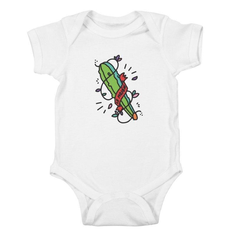 Bastuki Kids Baby Bodysuit by Orlando Soy Yo!
