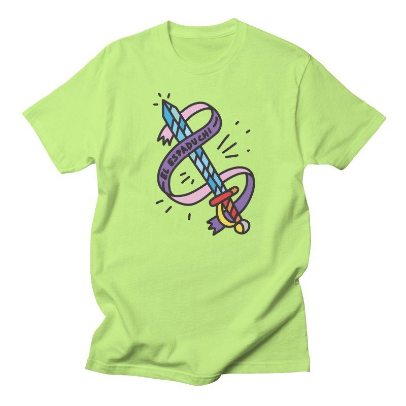 Espaduchi in Men's Regular T-Shirt Neon Green by Orlando Soy Yo!