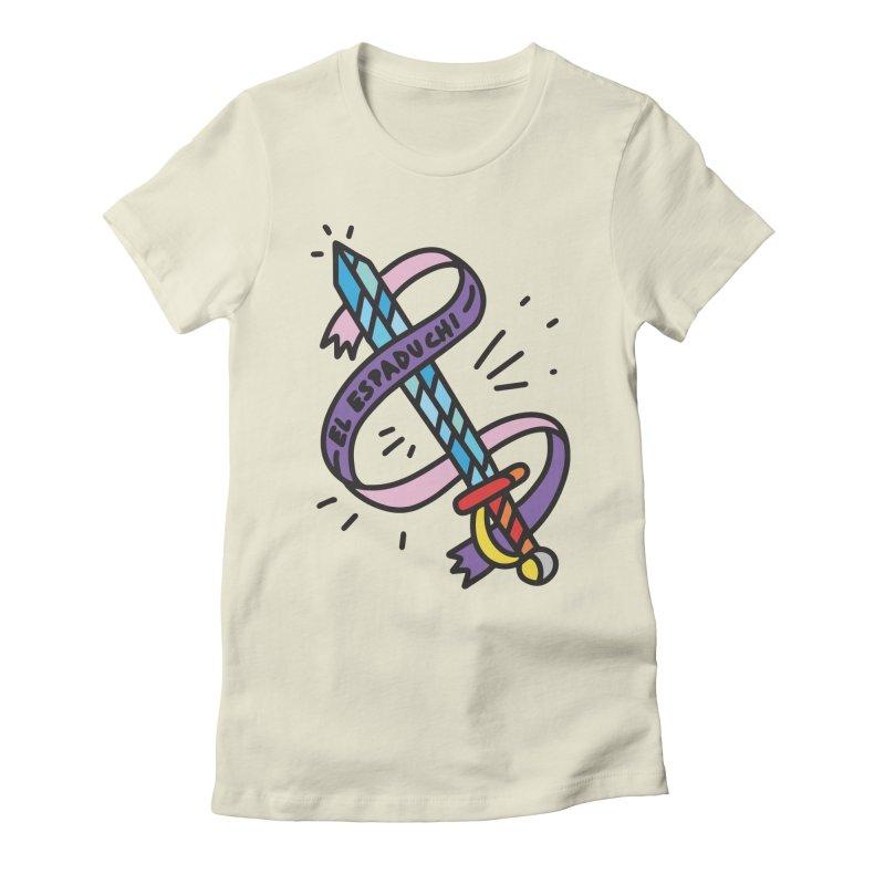 Espaduchi Women's Fitted T-Shirt by Orlando Soy Yo!