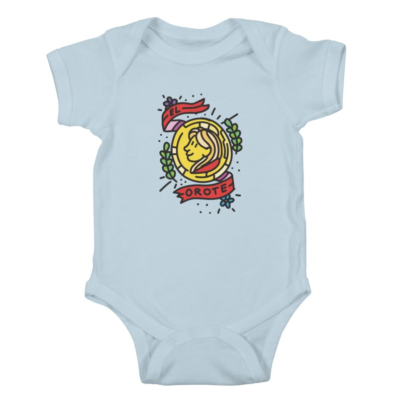 Orote Kids Baby Bodysuit by Orlando Soy Yo!