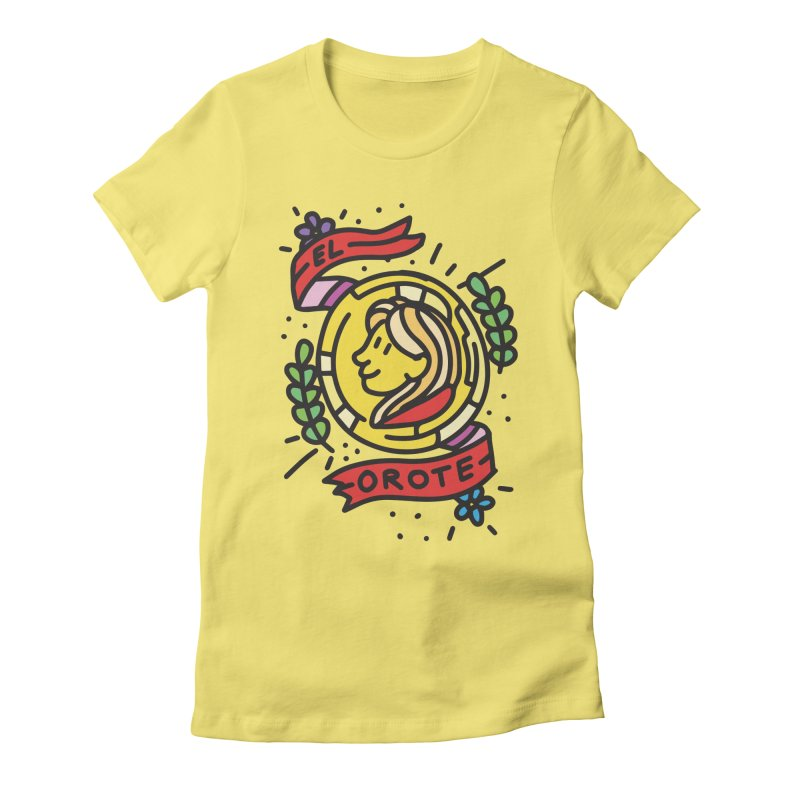 Orote Women's Fitted T-Shirt by Orlando Soy Yo!