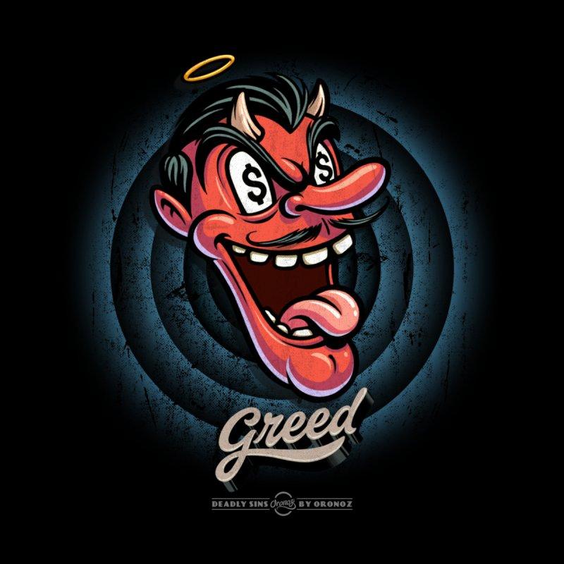 Greed Men's T-Shirt by Oronoz's Artist Shop