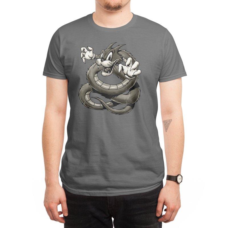 Tatzelwurm Men's T-Shirt by Oronoz's Artist Shop