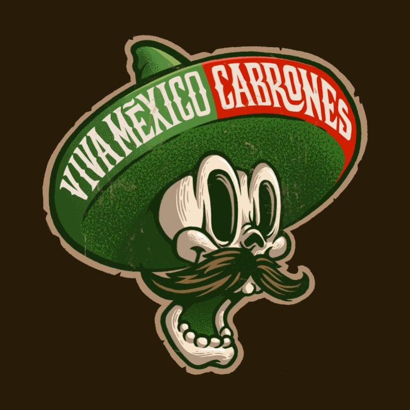 Viva Mexico Men's T-Shirt by Oronoz's Artist Shop